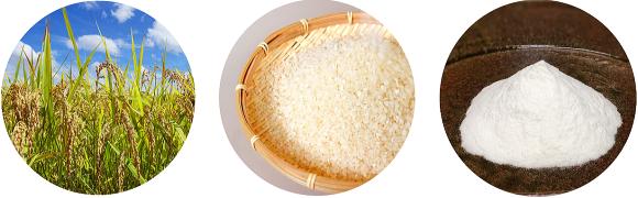 加須・北川辺こしひかり 米粉の菓子2